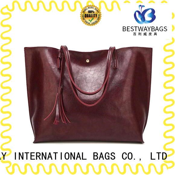Bestway elegant floral handbags supplier for lady