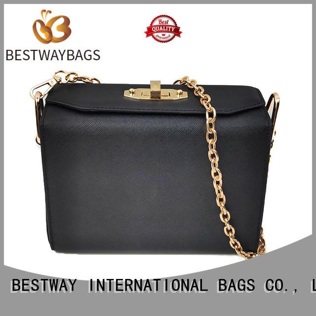 Bestway cross pu bag supplier for girl