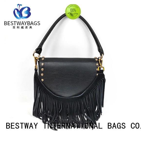 Bestway stylish leather shoulder bag wildly for work