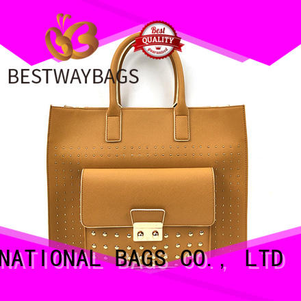 black pu leather bag Chinese for girl Bestway