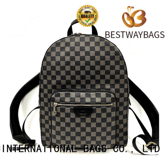 Bestway designer leather bag personalized for date