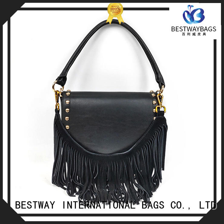 Bestway branded leather handbags personalized for school