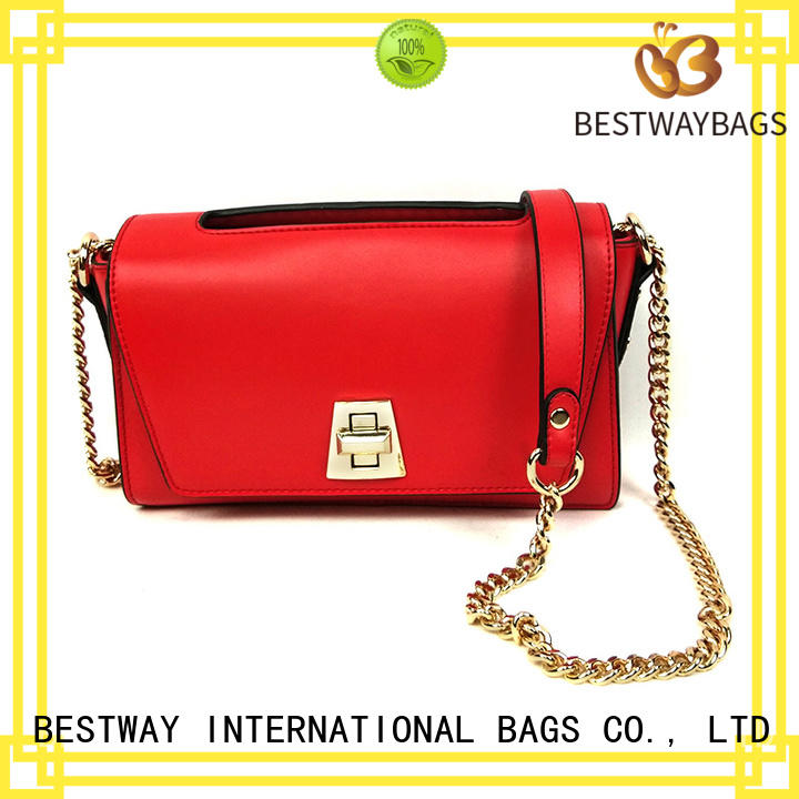 Bestway fashion pu leather bag for sale for women