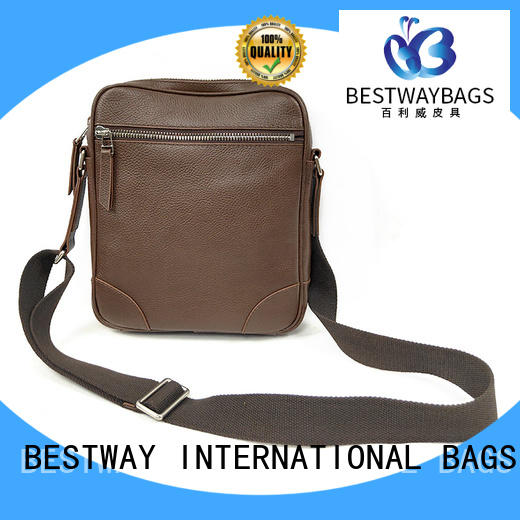 leather bag round for daily life Bestway