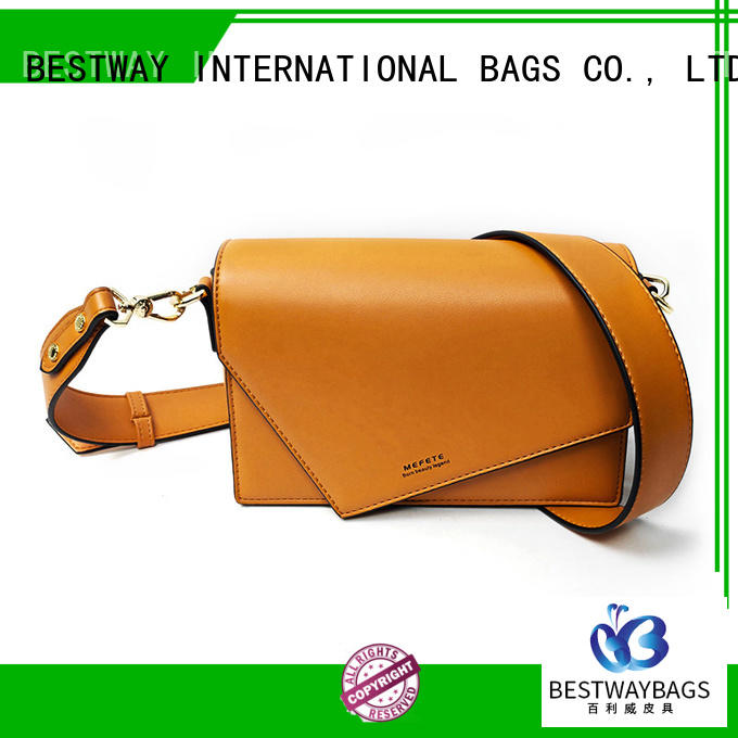 Bestway fashion pu leather bag red for ladies
