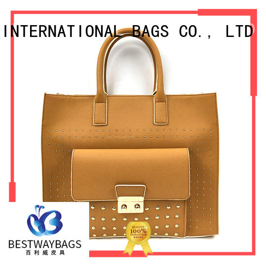 Bestway leisure pu bag supplier for lady