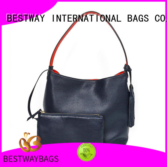 Bestway side leather crossbody bag customized for work