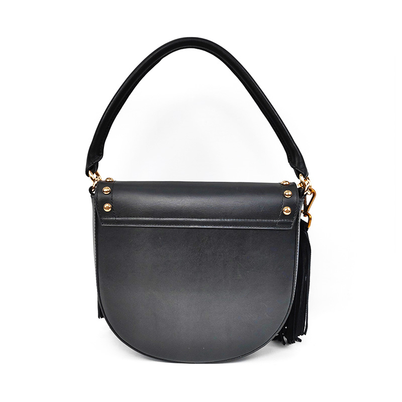 Bestway designer black leather bags online Supply for daily life-1
