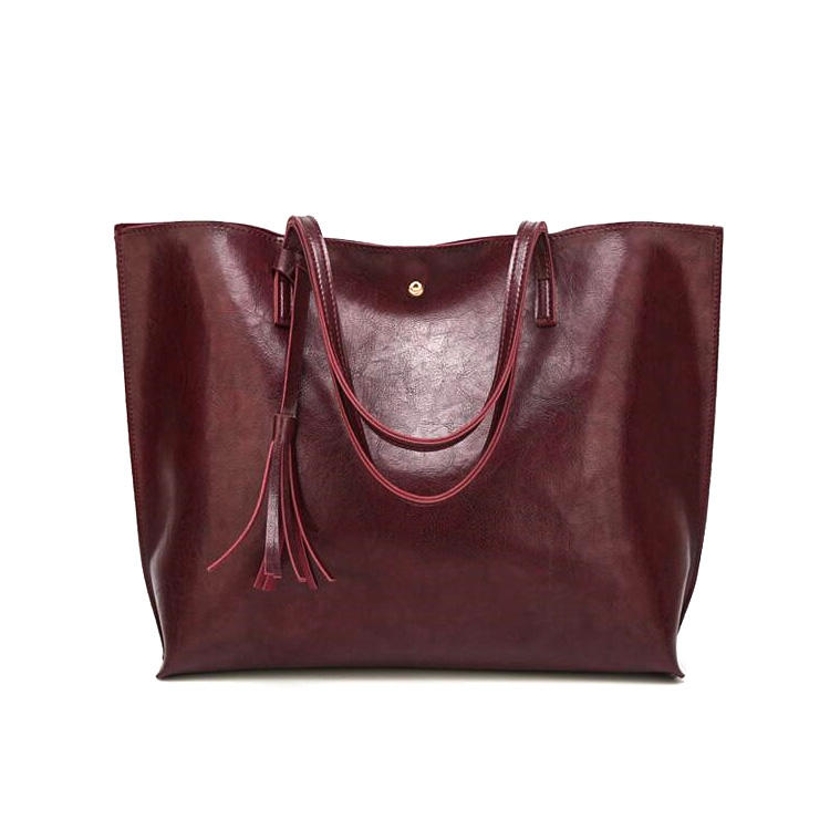 Wholesale Classic Big Purses Shop Leather Tote Bag Work Bags For Women