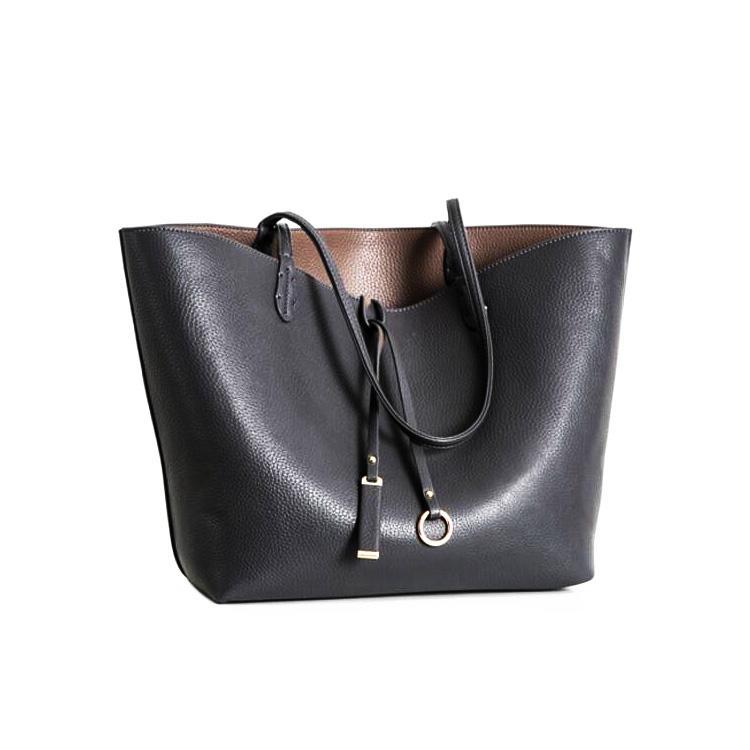 Authentic Designer Oversized Big Large Plain Grey Handbags For Ladies