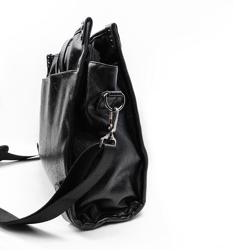 fashion pu vs faux leather logo online for women-2