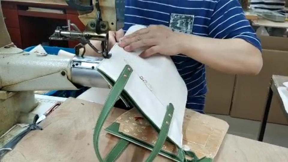 High Top Sewing Machine For Leather Tote Bag