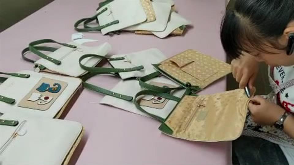 Cutting thread for Semi-bags Canvas Handbags
