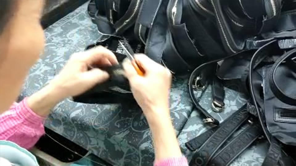 Cutting Thread For Finished  Canvas Bags