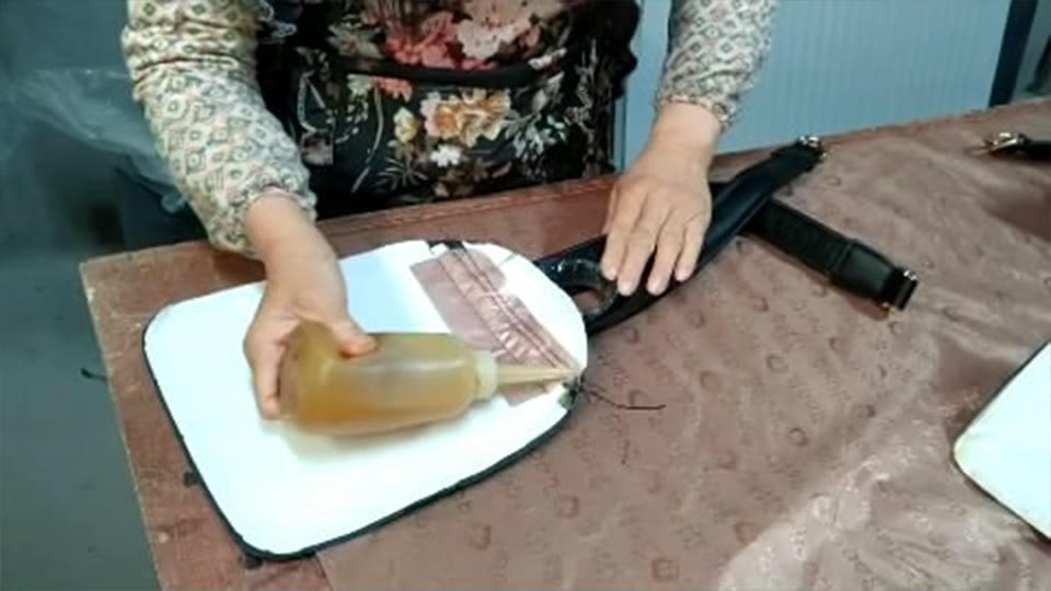 Leather Tote Bag Making