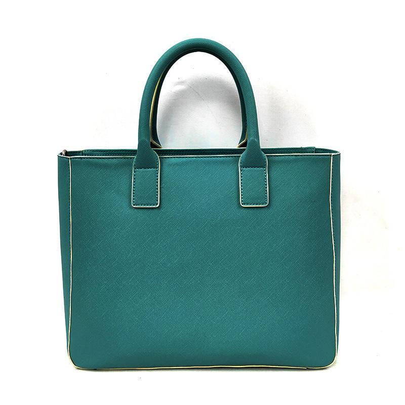 Luxury Name Brand Big Purses Light Blue Leather Satchel Handbags