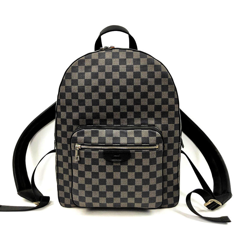 Customized Expensive Large Classic Designer Brand Fashion Women Laptop Leather Top Quality Backpack