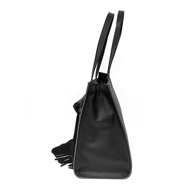 ladies women's genuine leather handbags hobo factory-2