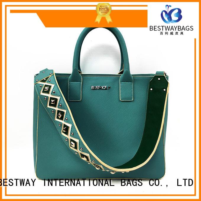 Bestway blue pu bag online for women