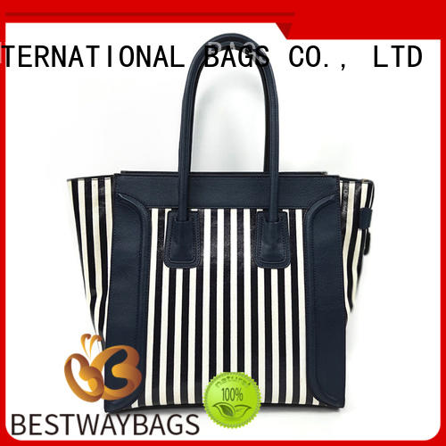 Bestway multi function canvas tote shopper bag personalized for vacation
