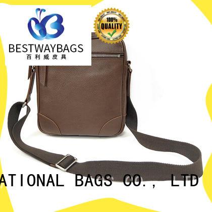 Bestway ladies round leather bag wildly