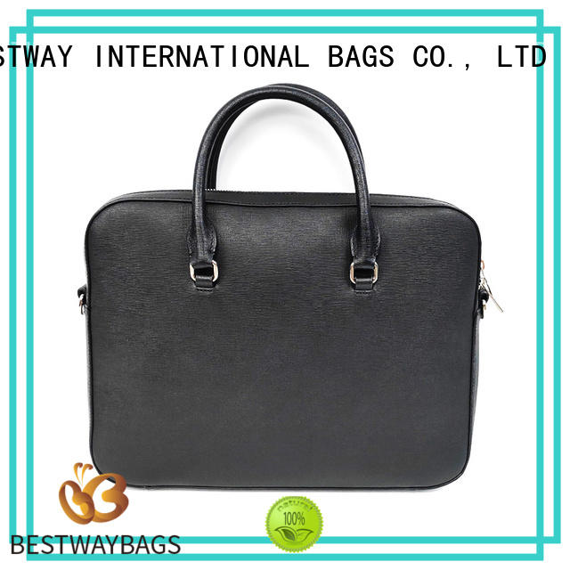 ladies round leather bag wide personalized for work