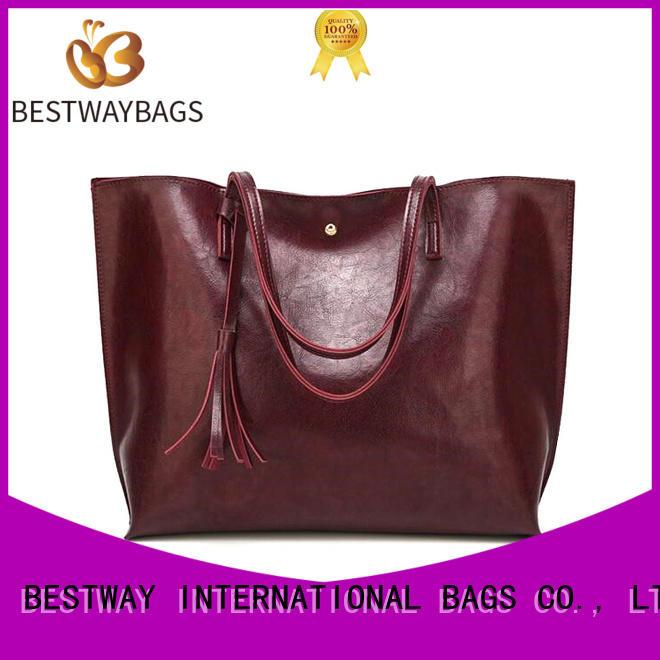 Bestway generous polyurethane bag rivets for ladies
