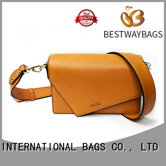 Bestway boutique fashion leather bags supplier for girl