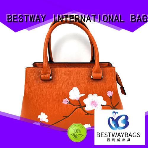 fashion pu leather bag designer online for girl