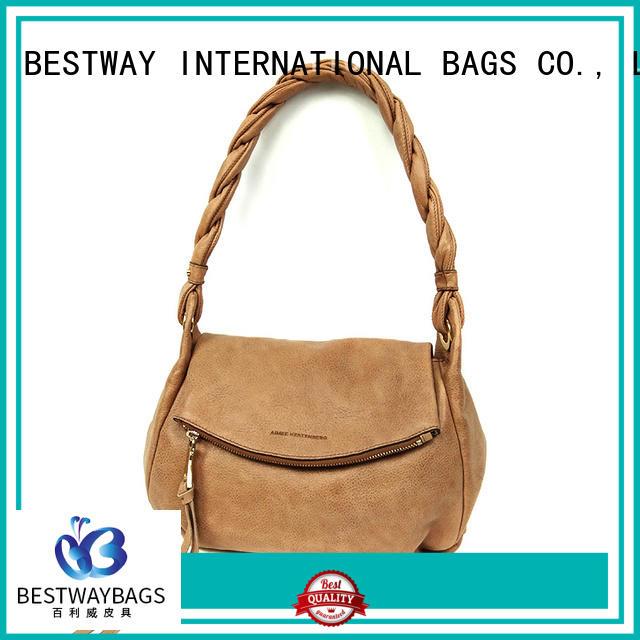 fashion pu leather bag split supplier for girl