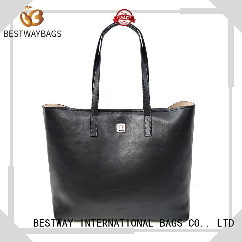 Bestway wide genuine leather bag shop wildly for date