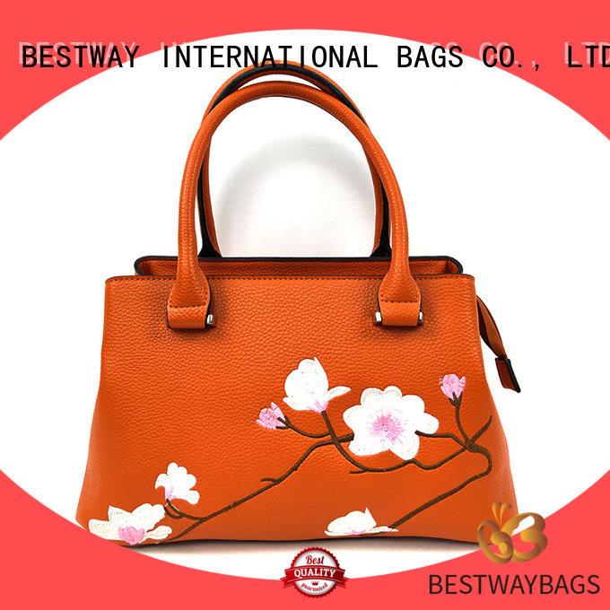 Bestway women polyurethane bag supplier for lady