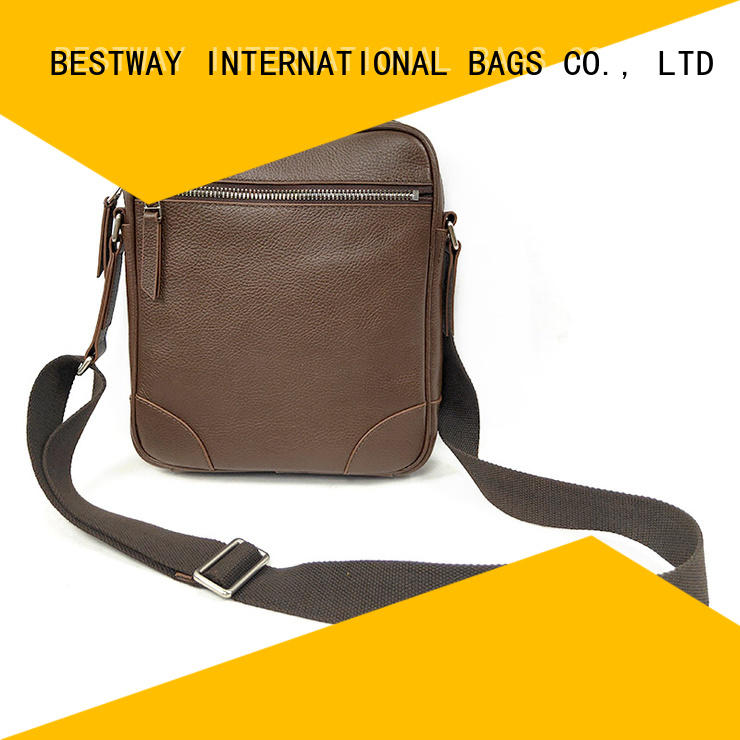 trendy leather bag manufacturer for daily life