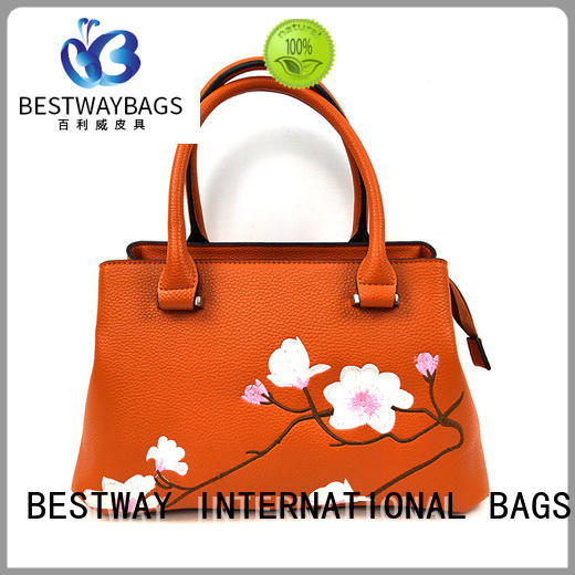 Bestway fashion faux leather vs pu leather for sale for ladies