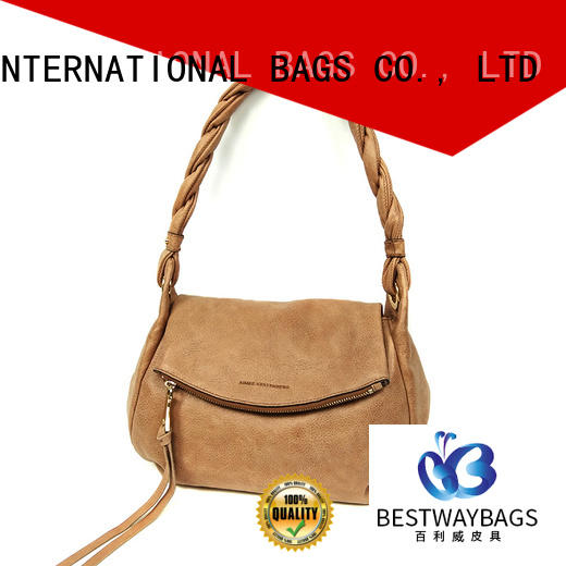 Bestway elegant pu leather bag Chinese for girl