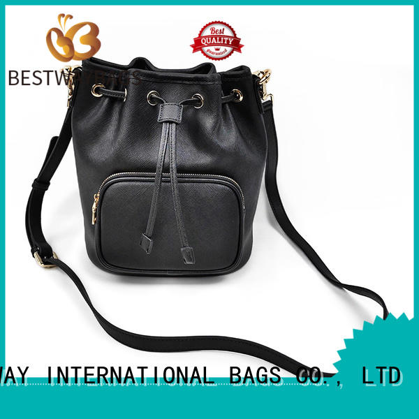 womens leather crossbody bag organizer for work Bestway