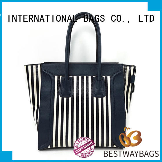 Bestway easy match canvas bag personalized for shopping