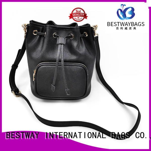 Bestway popular purple leather handbags on sale