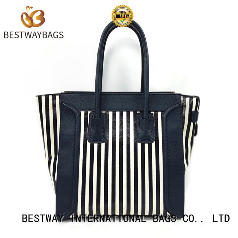 Bestway oem custom canvas tote bags personalized for holiday