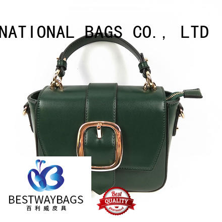 Bestway generous is pu leather real leather supplier for ladies