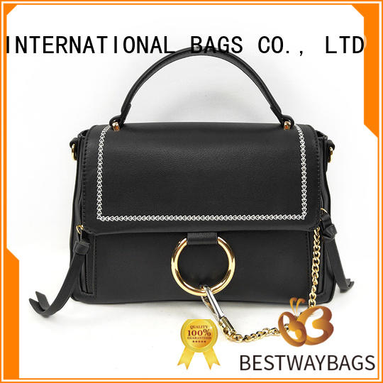 Bestway boutique pu leather bag Chinese for lady