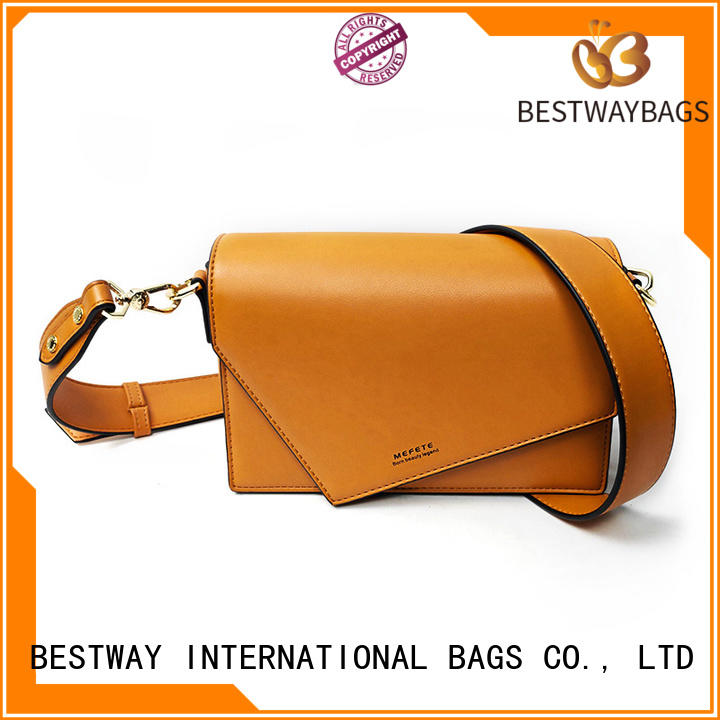 simple polyurethane material bags soft supplier for ladies