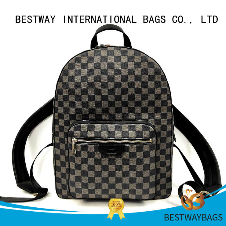 Bestway side leather bag wildly for daily life