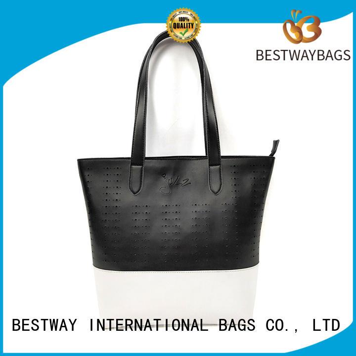 Bestway blue polyurethane bag online for ladies