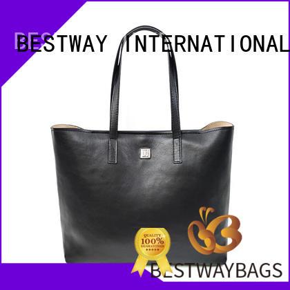 Bestway popular leather handbags on sale for school