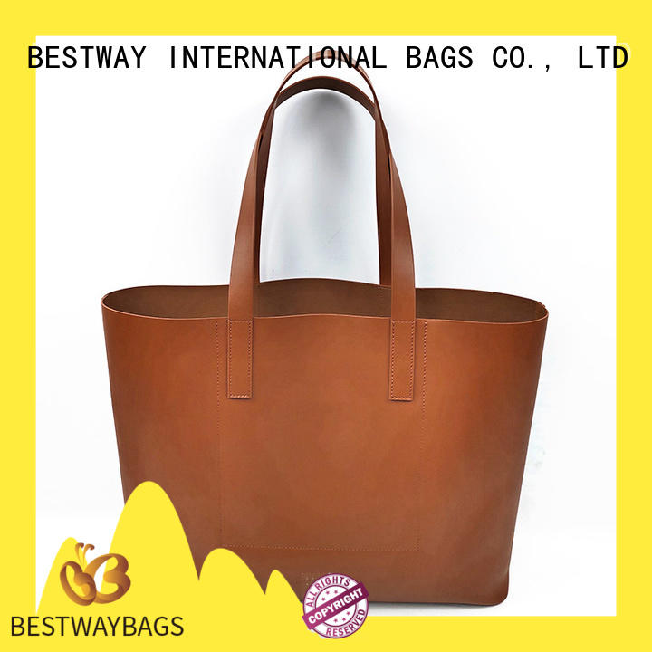 Bestway office pu leather bag supplier for women