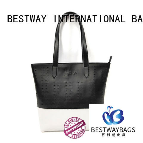 Bestway designer pu leather fabric for sale for women
