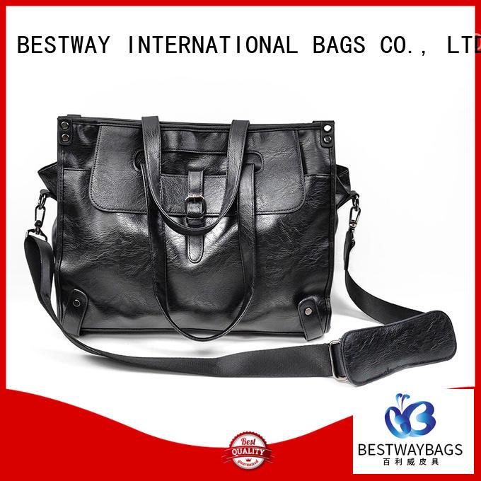 Bestway fashion pu leather bag supplier for women