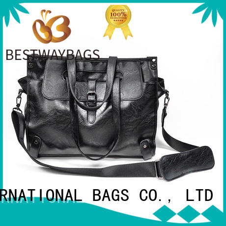 Bestway strap faux leather vs pu leather supplier for girl