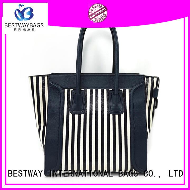Bestway branded ladies canvas bag wholesale for travel